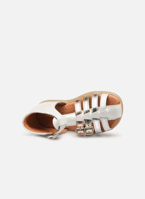 Sandales et nu-pieds Babybotte Twix Blanc vue gauche