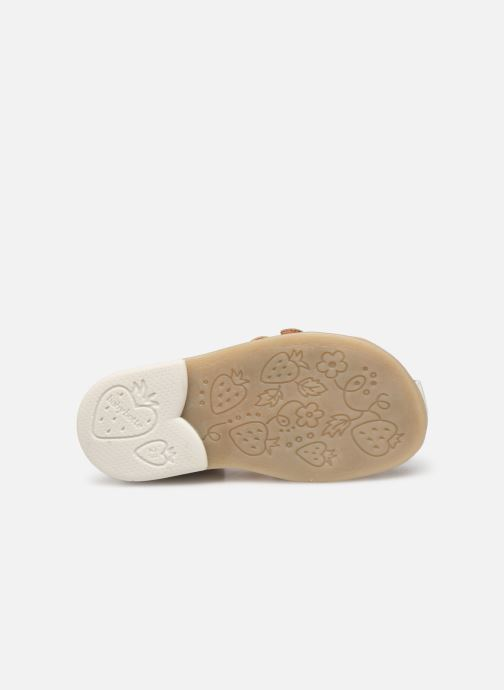 Sandales et nu-pieds Babybotte Twix Blanc vue haut