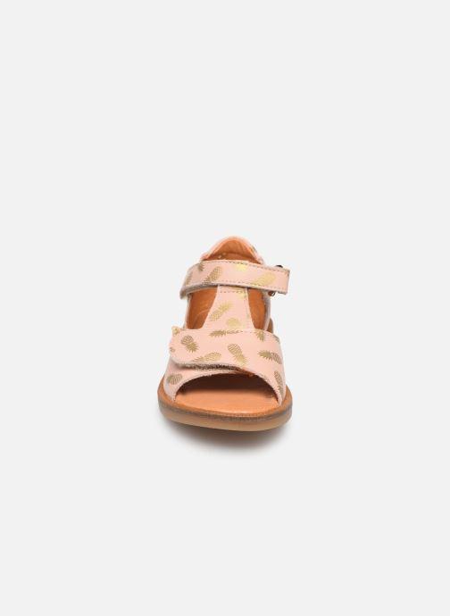 Sandales et nu-pieds Babybotte Tropical Beige vue portées chaussures