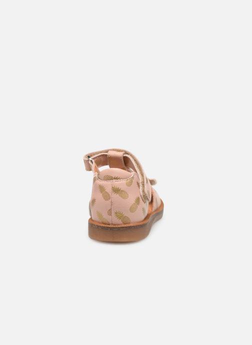 Sandales et nu-pieds Babybotte Tropical Beige vue droite
