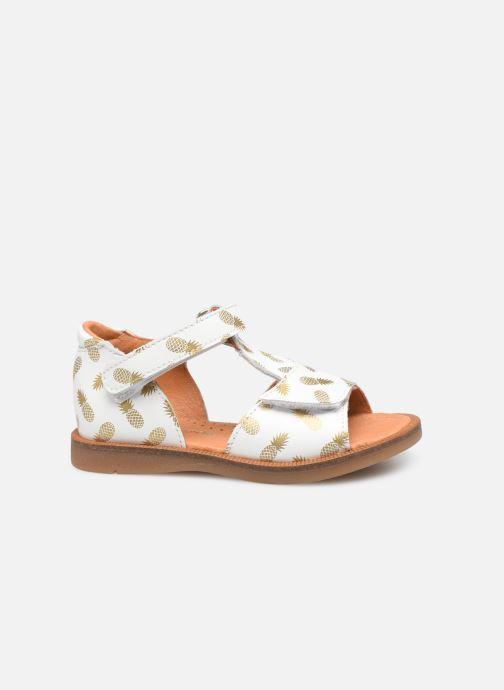 Sandalen Babybotte Tropical weiß ansicht von hinten