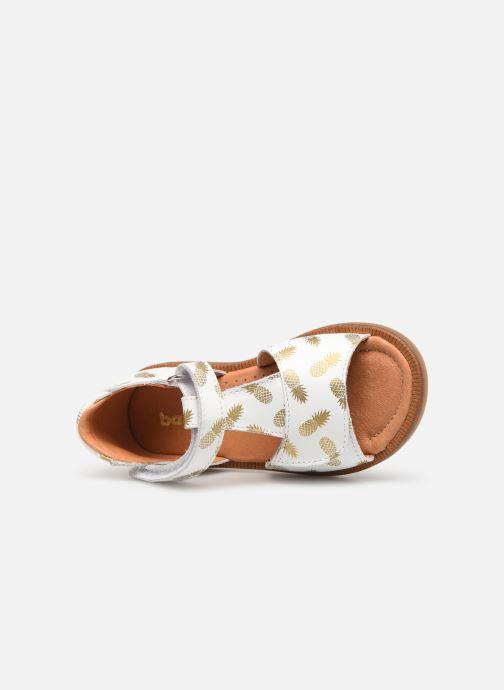 Sandalen Babybotte Tropical weiß ansicht von links
