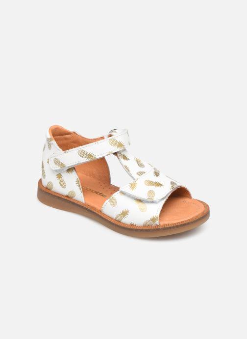 Sandales et nu-pieds Babybotte Tropical Blanc vue détail/paire