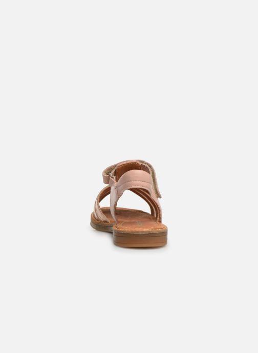 Sandales et nu-pieds Babybotte Karousel Beige vue droite