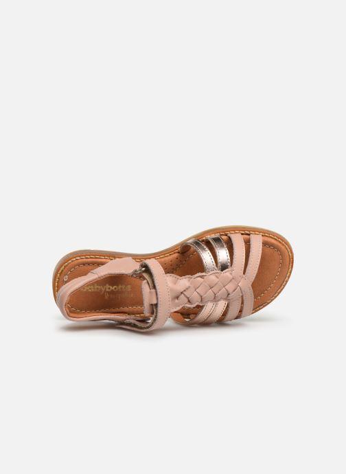 Sandales et nu-pieds Babybotte Karousel Beige vue gauche