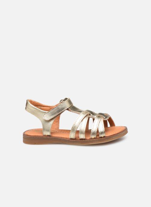 Sandales et nu-pieds Babybotte Kidz Or et bronze vue derrière