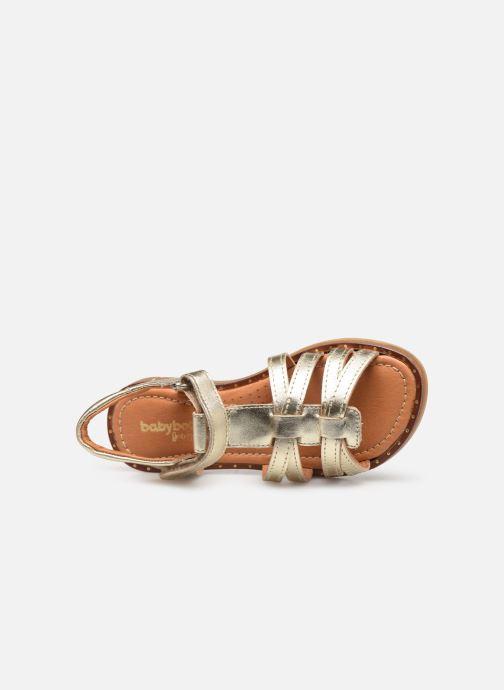 Sandales et nu-pieds Babybotte Kidz Or et bronze vue gauche