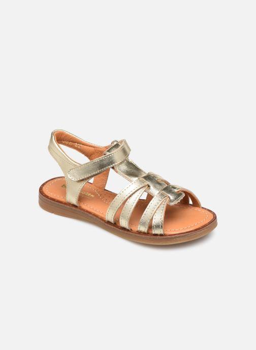 Sandales et nu-pieds Babybotte Kidz Or et bronze vue détail/paire