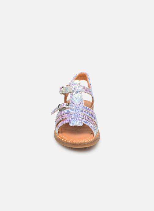 Sandali e scarpe aperte Babybotte Katz Argento modello indossato