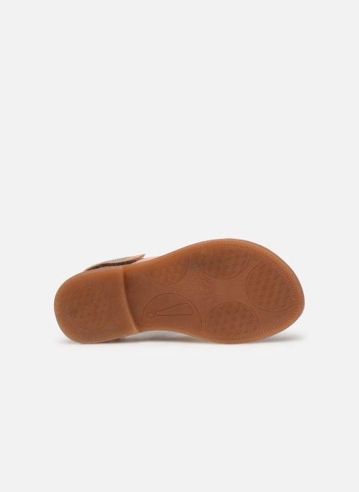 Sandalen Babybotte Yoko Beige boven