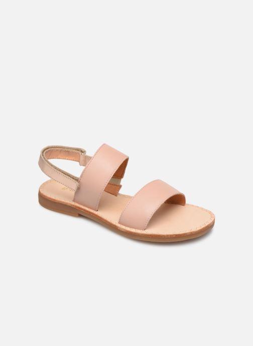 Sandaler Babybotte Yoko Beige detaljeret billede af skoene