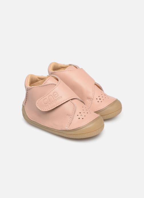 Pantoffels Babybotte Zenitude Beige detail