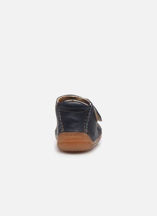 Chaussons Babybotte Zenitude Bleu vue droite