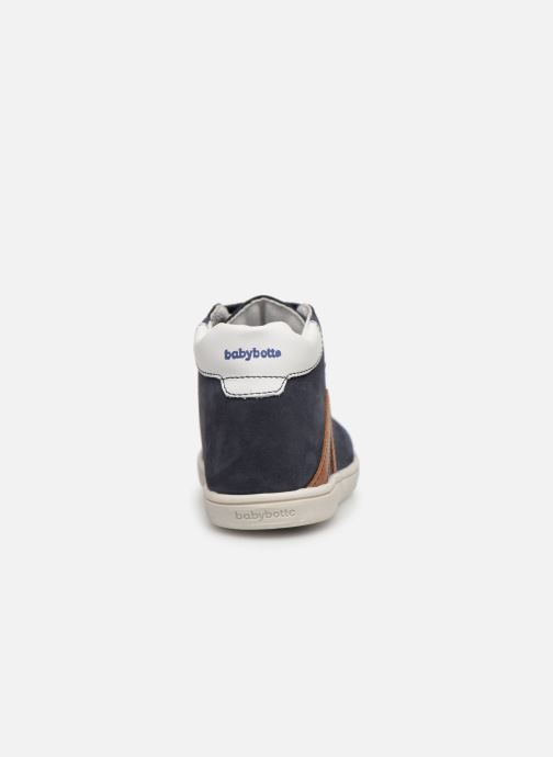 Ankle boots Babybotte Frero Blue view from the right