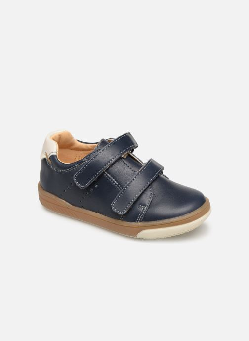 Ankle boots Babybotte Ankiri Blue detailed view/ Pair view