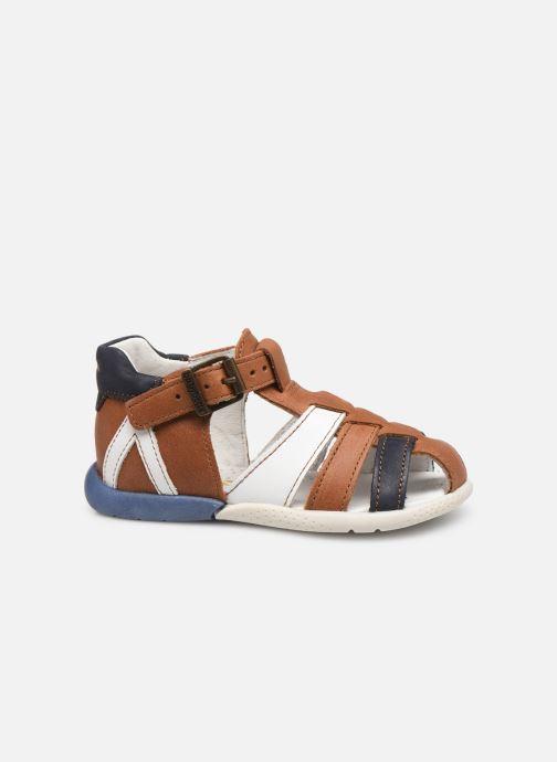 Sandali e scarpe aperte Babybotte Gemeaux Marrone immagine posteriore
