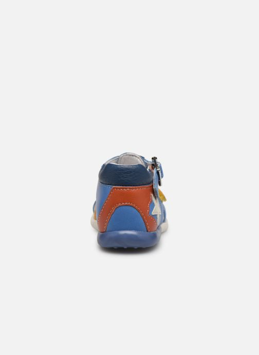Sandali e scarpe aperte Babybotte Galaxi Azzurro immagine destra