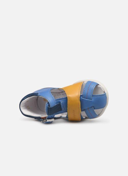 Sandali e scarpe aperte Babybotte Galaxi Azzurro immagine sinistra