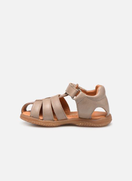 Sandales et nu-pieds Babybotte Tafari Beige vue face