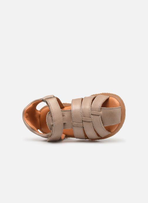 Sandali e scarpe aperte Babybotte Tafari Beige immagine sinistra