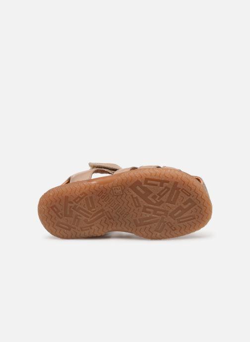 Sandales et nu-pieds Babybotte Tafari Beige vue haut