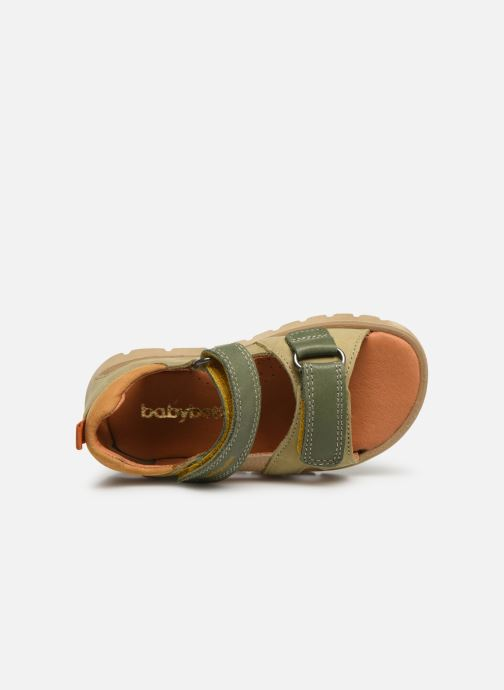 Sandals Babybotte Tonga Green view from the left