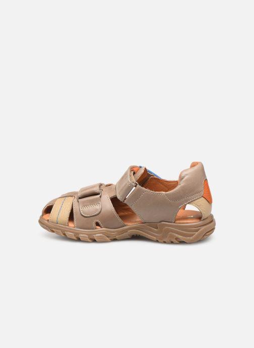 Sandales et nu-pieds Babybotte Kouglof Beige vue face
