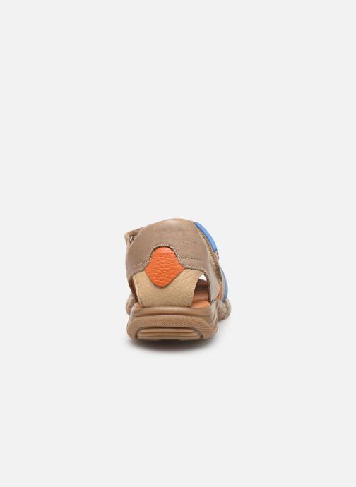 Sandales et nu-pieds Babybotte Kouglof Beige vue droite