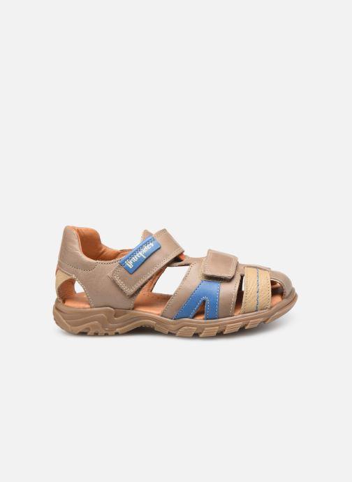 Sandales et nu-pieds Babybotte Kouglof Beige vue derrière