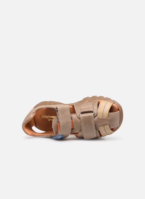 Sandales et nu-pieds Babybotte Kouglof Beige vue gauche