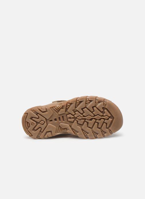 Sandales et nu-pieds Babybotte Kouglof Beige vue haut