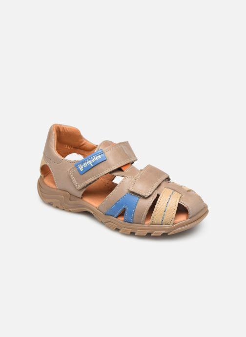 Sandaler Babybotte Kouglof Beige detaljeret billede af skoene