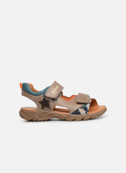 Sandalen Babybotte Klafouti Beige achterkant