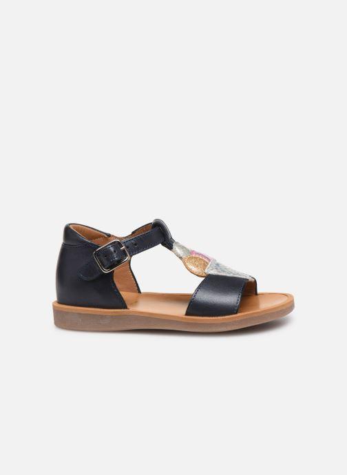 Sandales et nu-pieds Pom d Api Poppy Ice Cream Bleu vue derrière