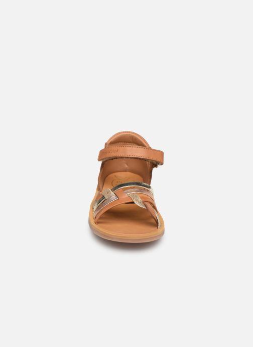 Sandales et nu-pieds Pom d Api Poppy Tresse Multicolore vue portées chaussures