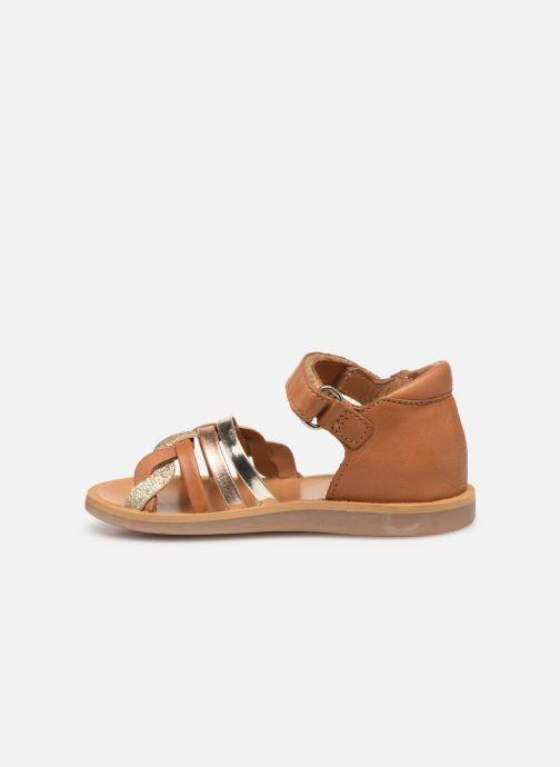 Sandales et nu-pieds Pom d Api Poppy Tresse Multicolore vue face