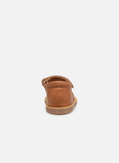 Sandales et nu-pieds Pom d Api Poppy Tresse Multicolore vue droite