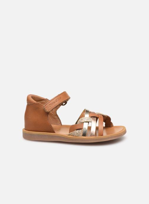 Sandales et nu-pieds Pom d Api Poppy Tresse Multicolore vue derrière