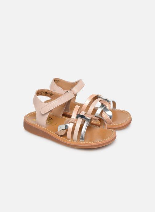 Sandales et nu-pieds Pom d Api Yapo Tresse SZ Multicolore vue 3/4