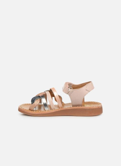 Sandales et nu-pieds Pom d Api Yapo Tresse SZ Multicolore vue face