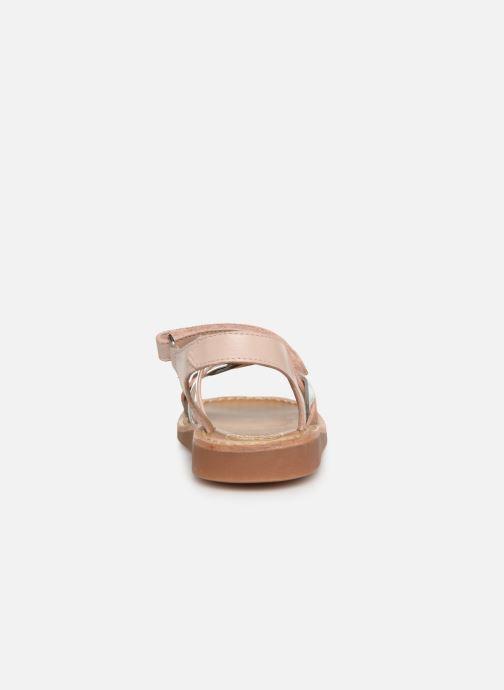 Sandales et nu-pieds Pom d Api Yapo Tresse SZ Multicolore vue droite