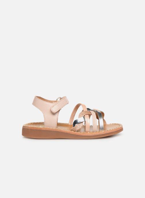 Sandales et nu-pieds Pom d Api Yapo Tresse SZ Multicolore vue derrière