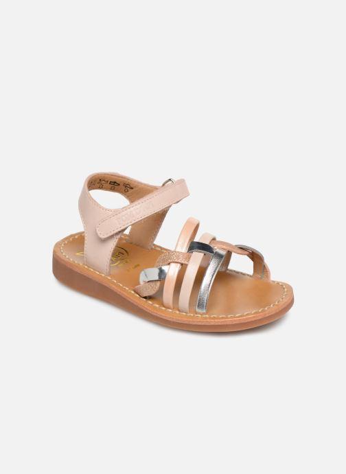 Sandales et nu-pieds Pom d Api Yapo Tresse SZ Multicolore vue détail/paire