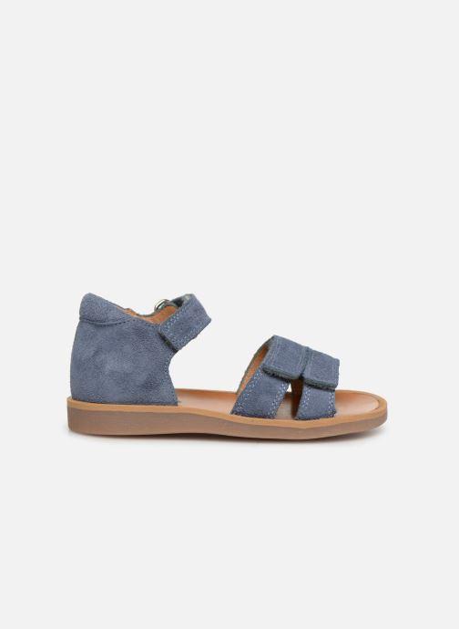 Sandales et nu-pieds Pom d Api Poppy Bypo Bleu vue derrière