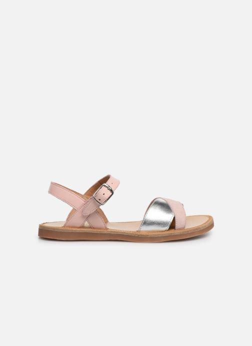 Sandales et nu-pieds Pom d Api Plagette Tek SZ Rose vue derrière