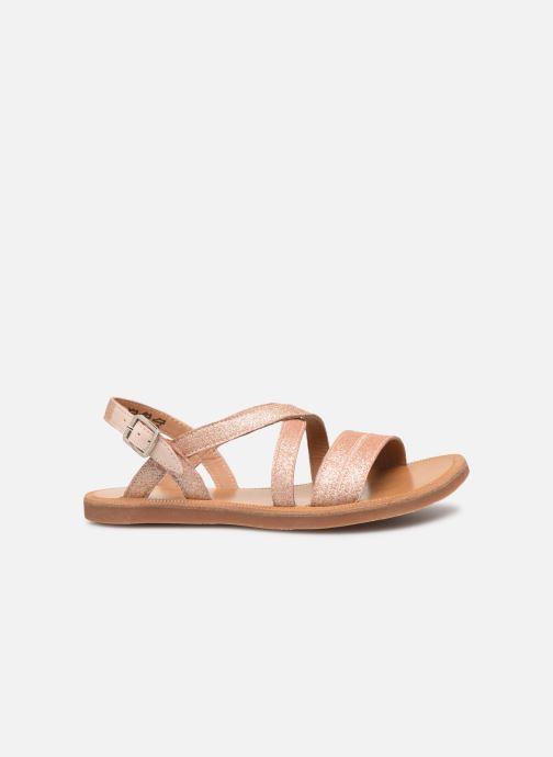 Sandales et nu-pieds Pom d Api Plagette Lagon Beige vue derrière