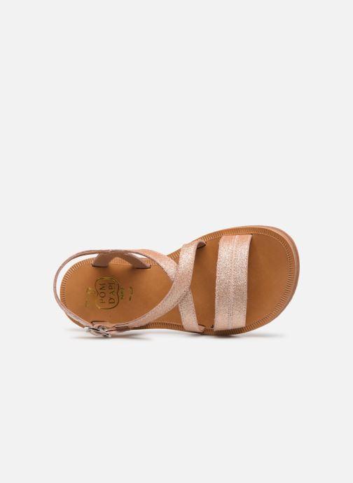 Sandales et nu-pieds Pom d Api Plagette Lagon Beige vue gauche