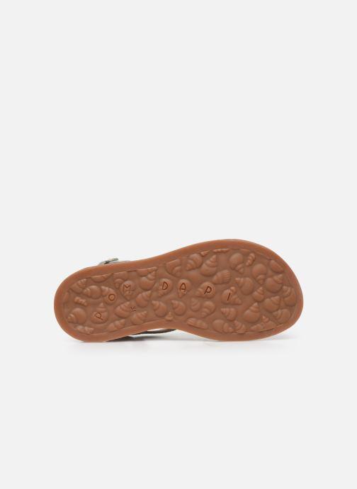 Sandali e scarpe aperte Pom d Api Plagette Lagon Argento immagine dall'alto