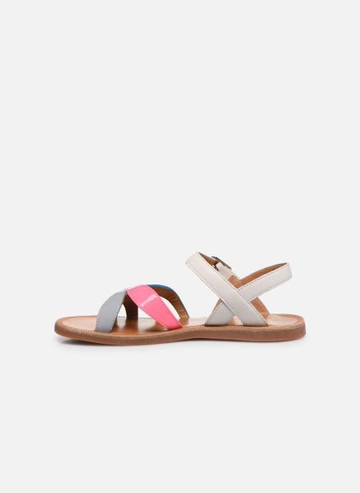 Sandales et nu-pieds Pom d Api Plagette Reverse Multicolore vue face