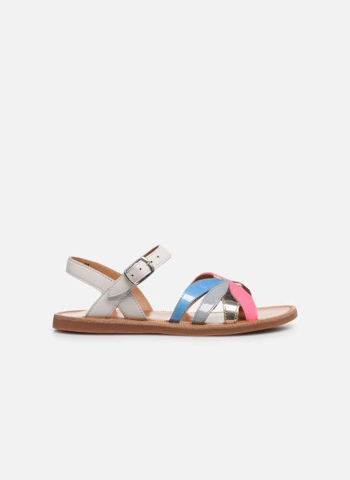 Sandales et nu-pieds Pom d Api Plagette Reverse Multicolore vue derrière